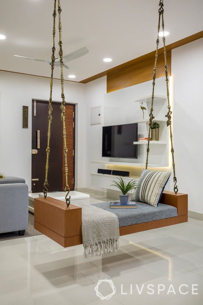 You Need To See How Custom Designs Transformed This Family Home Ceiling Design Living Room Living Room Design Decor Living Room Partition Design