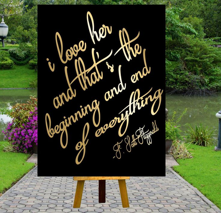 PRINTABLE i love her ,Gatsby party decoration, Roaring 20s Art deco,Wedding Sign, Wedding Decor, Gatsby Quote by inkmebeautiful on Etsy https://www.etsy.com/listing/240097798/printable-i-love-her-gatsby-party