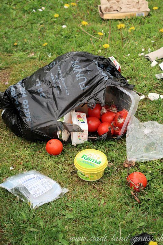 Lebensmittelverschwendung ist auch für das Klima ein Problem. Food Waste und Umweltschutz. Tipps und Rezepte mit Resten auf unserem Blog.