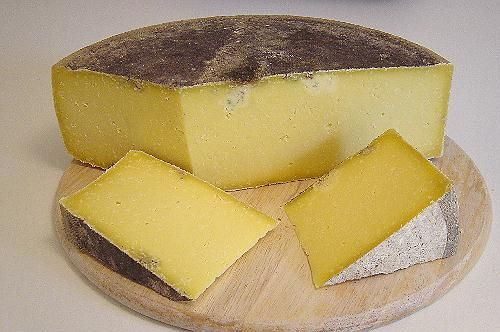Jersey Shield - Monastery Cheese, Somerset  This hard cheese is rarely available. It is made with unpasteurised Jersey cows milk from the Montgomery herd at North Cadbury. It is 'Ogle Shield' before it has been brine washed.