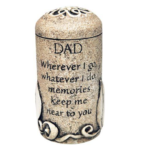 Cremation urn keepsake dad dad pinterest cremation for Father daughter cremation jewelry