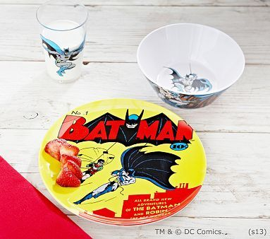 These high-energy graphics are so much fun that kids want to use this tableware every day. It's made extra rugged to last and last.