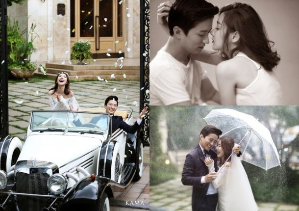 Actors So Yi Hyun and In Kyo Jin Unveil Their Beautiful Wedding Photos