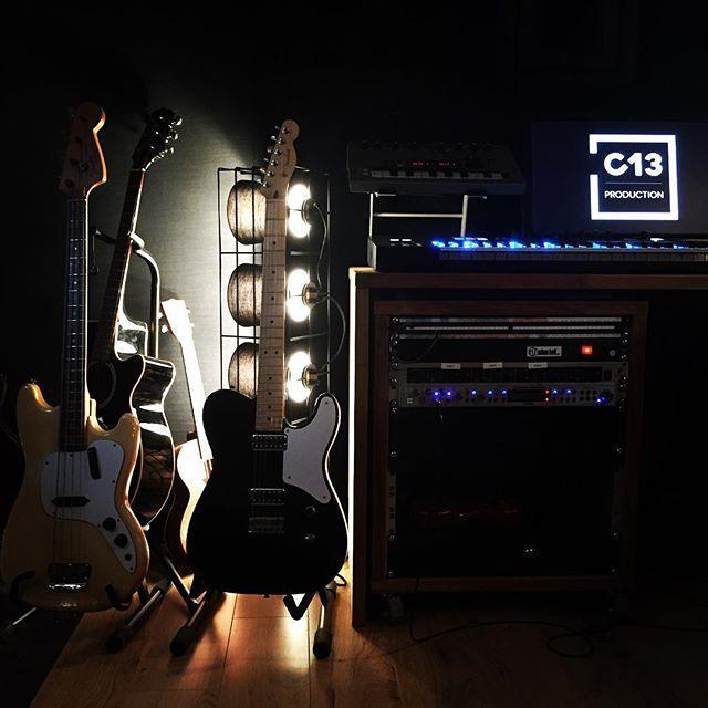 Guitar & bass @ C13 Production - Paris - France | #studioparis #backline #fender #telecaster