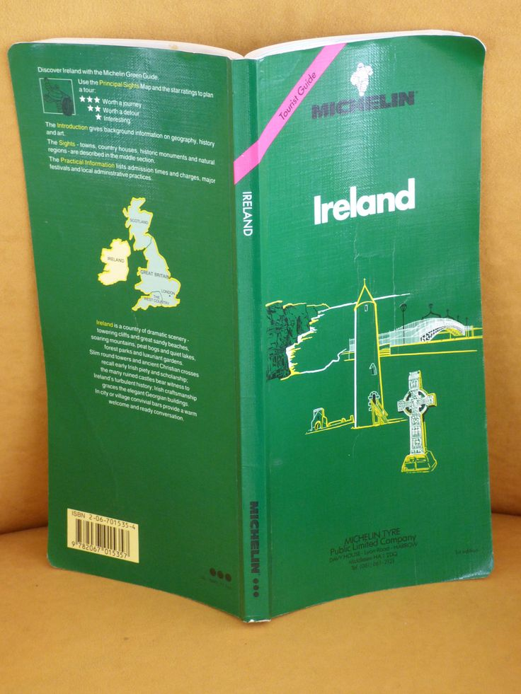 1992 Michelin Ireland Travel Guide - Clean Condition - Ready to Use and Enjoy - Wanderlust - Luck of the Irish - Travel Book - Maps - Info by ChicAvantGarde on Etsy