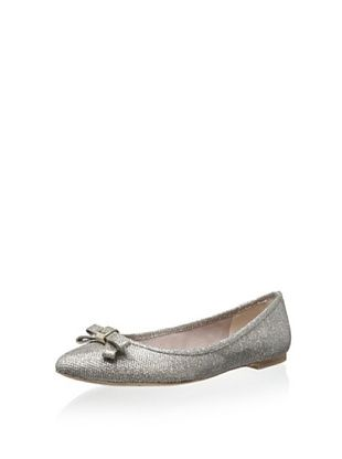 54% OFF Vince Camuto Women's Timba Pointed Toe Ballet Flat (Flash Gold/Silver)