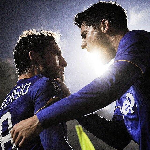 Claudio #Marchisio e Alvaro #Morata