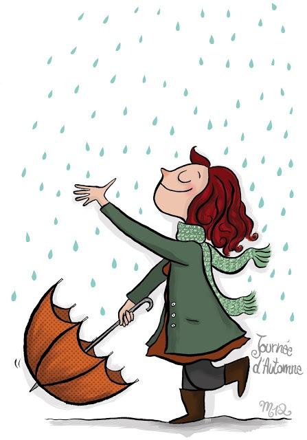 Journée d'Automne  Illustration blog Crayon d'Humeur  http://crayondhumeur.blogspot.fr/