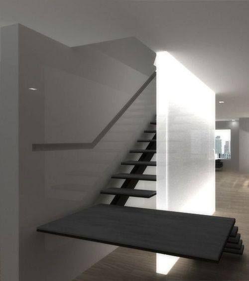 Stair Lighting Design: 219 Best Stair Ideas Images On Pinterest