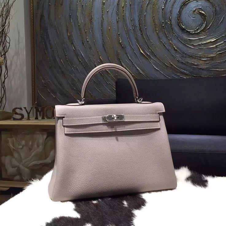 Hermes Kelly 32cm Togo Calfskin Original Leather Bag Handstitched ...