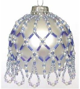June Pearl & Alexandrite Ornament Cover Pattern