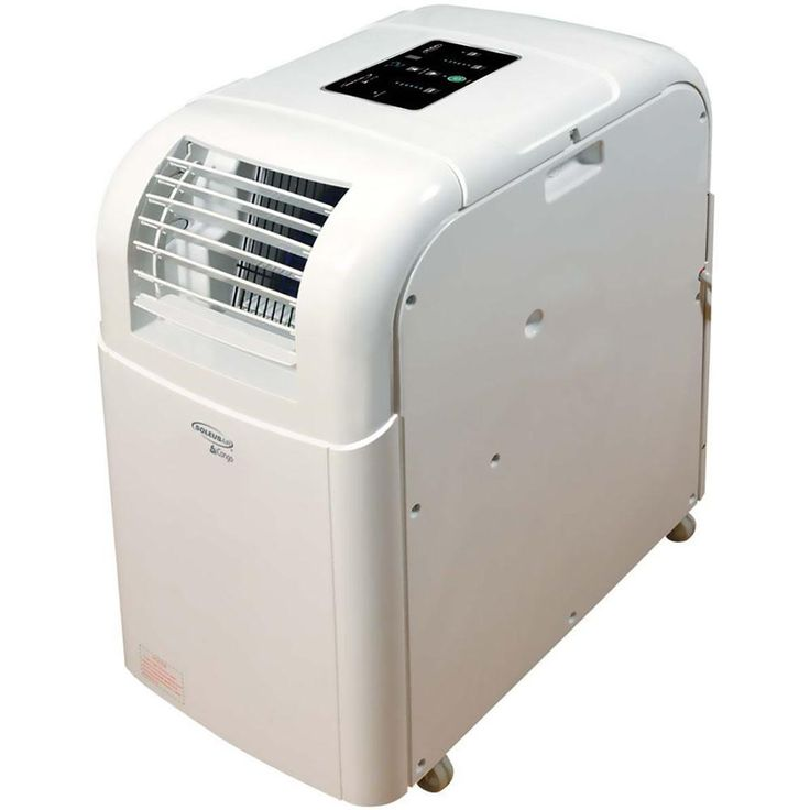 Soleus Air 10000 BTU 206 CFM 3-Speed Portable Evaporative Air Conditioner for 350 sq. ft. with LCD Remote Control, White