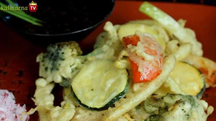 Jak zrobić przygotować Warzywa Smażone w Tempurze - Przepis kuchni japońskiej na Video. Chrupiące i smaczne warzywa to bardzo dobry pomysł na obiad. Smakowało? Zostaw nam swój komentarz:)