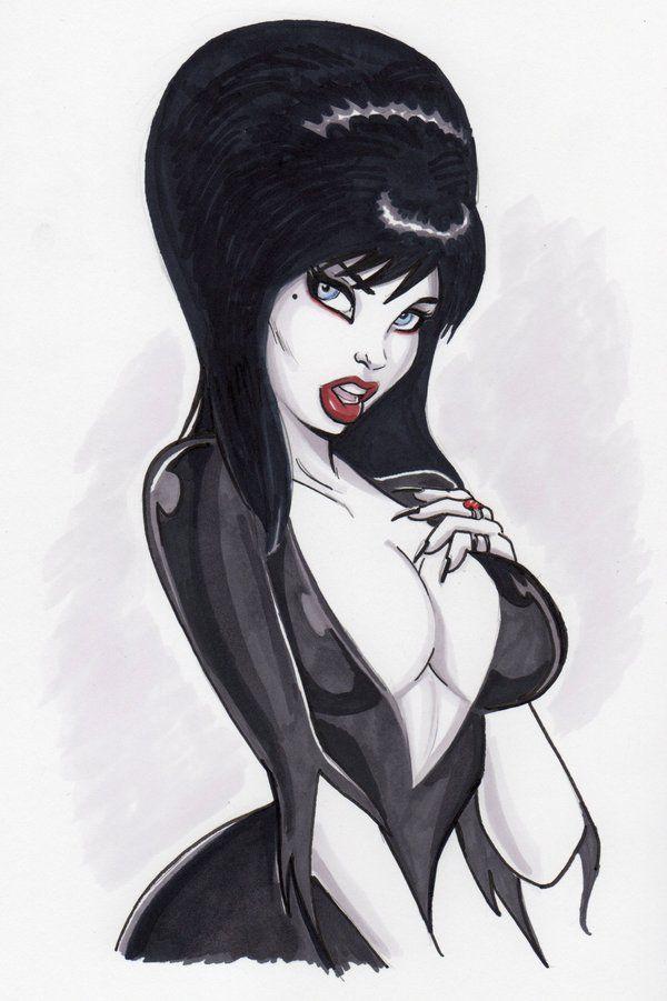 Elvira Mistress of the Darkby *PatrickFinch