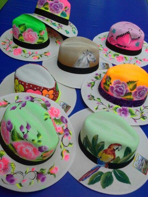 Sombreros pintados