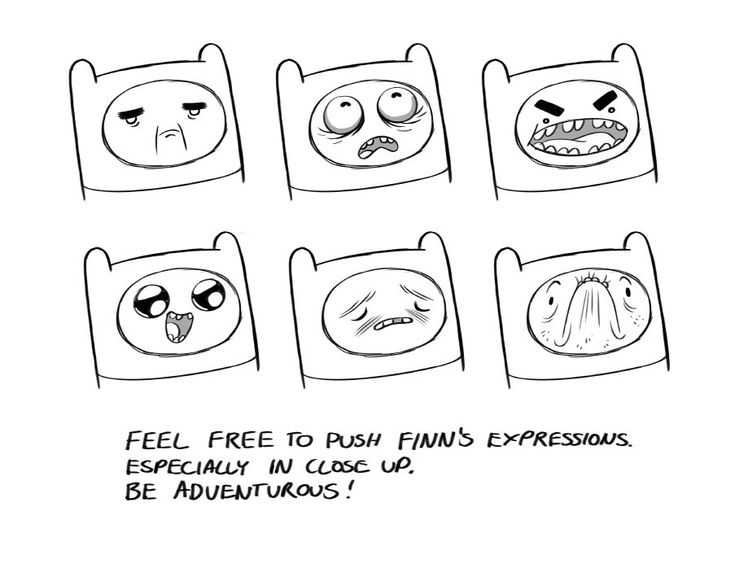 adventure time drawing guide