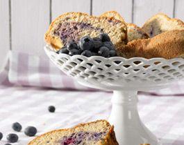 Blauer Marmorkuchen