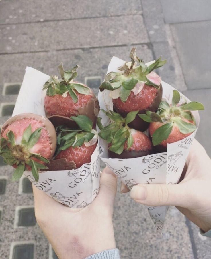 🍓 fraises et chocolat