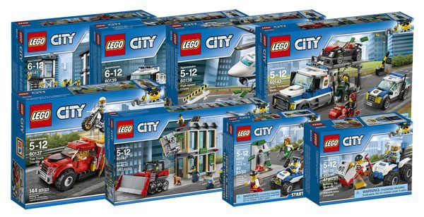 New LEGO City 2017