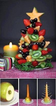 Zobacz zdjęcie W świeta też nie moze zabraknąć owoców. W końcu lepsze owoce, niż słodycze. G...