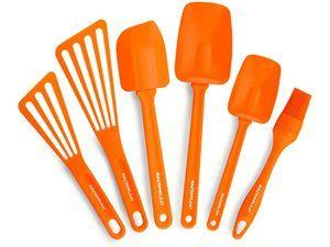 :)Kitchens, Tools Sets, Orange, Rachaelray, Ray Tools, Utensils Sets, Rachael Ray, 6 Piece Utensils, Tools 6 Piece