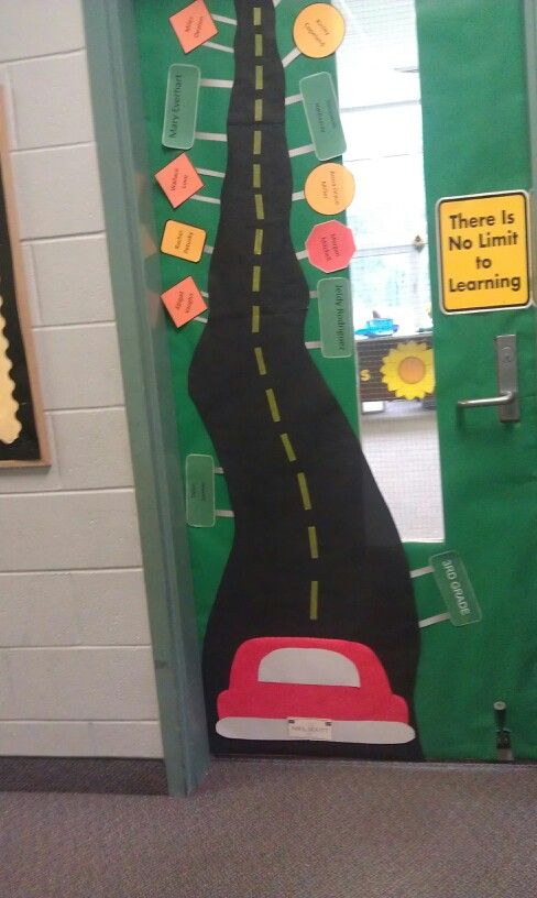 Classroom Door Decoration Ideas Rd Grade ~ Best ideas about road trip theme on pinterest
