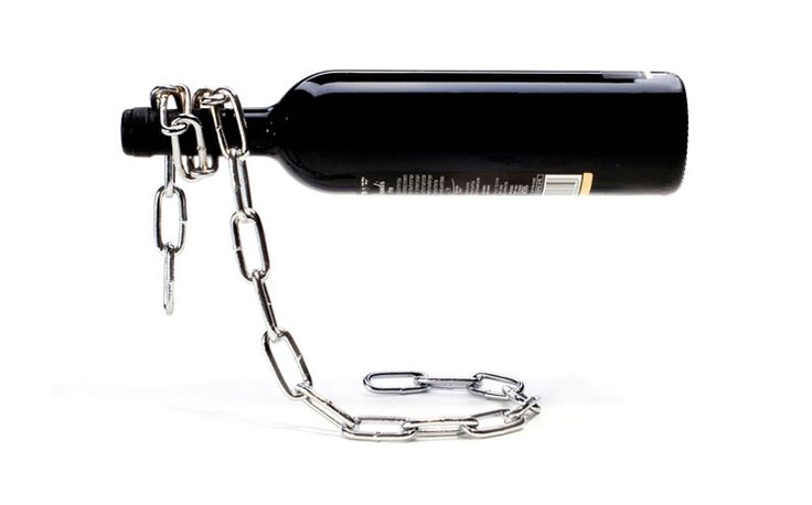 Portabottiglie di vino da tavolo dal design moderno n.03