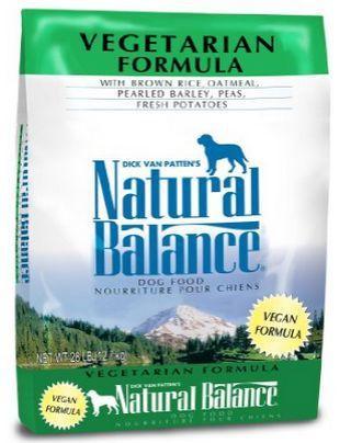 Natural Balance vegan dog food