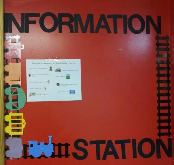 Parent information board