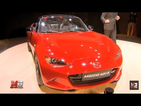 NEW MAZDA CX-3 AND MX-5 MILANO DESIGN WEEK 2015