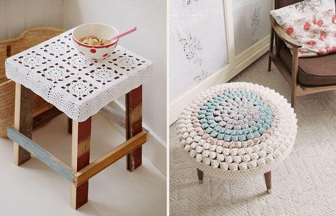 Decoração de Casa Com Crochê | Que se Ame
