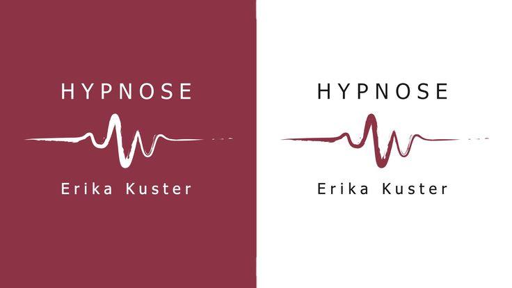 Das Logo von Hypnose Kuster. Erika Kuster kann bei Ängsten, Sucht, Burn Out, Schmerzen und vielem mehr mithilfe von Hypnose helfen. --- #logodesigner #logodesign #graphic #grafikloft #grafik #graphicdesign #logoinspirations #branding #creative #designinspiration #creativity #brandlogo #designer