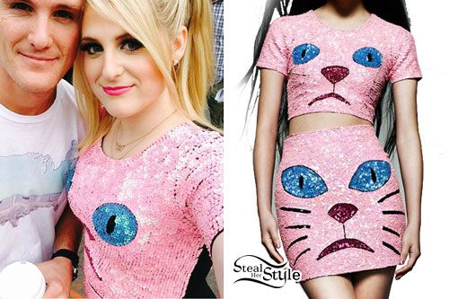 17 best images about megan trainor on pinterest today for Tattooed pussy lips