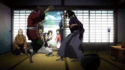 hakuouki funny gif hakuouki anime art manga anime i