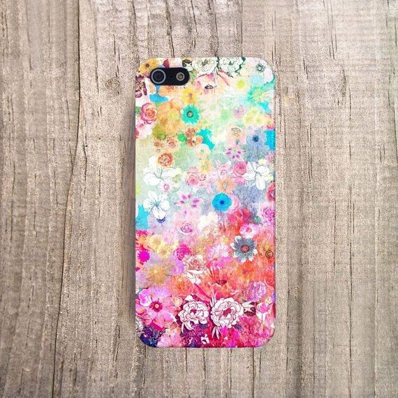 Flower patterned case so cute and adorable