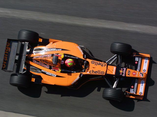Enrique Bernoldi - 2001 - Orange Arrows Asiatech