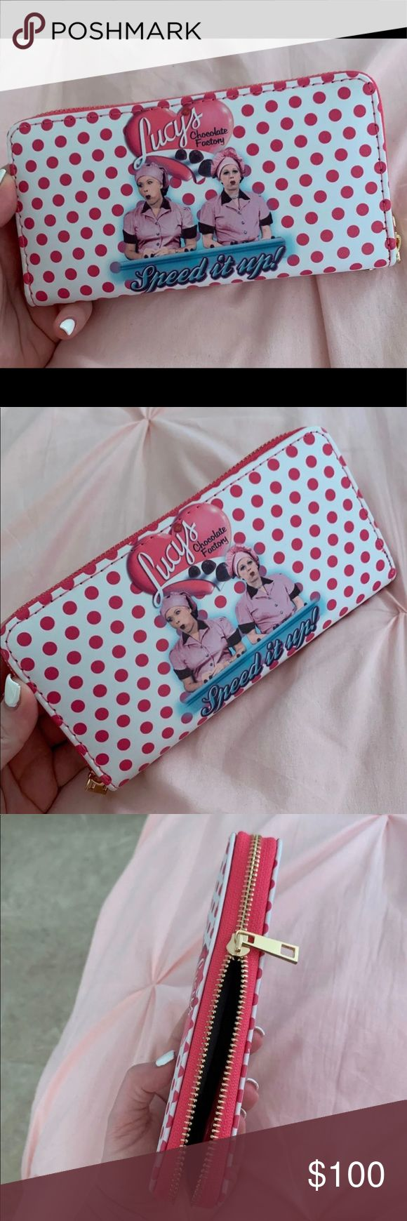 Brand new I love Lucy wallet Brand new I love Lucy zip