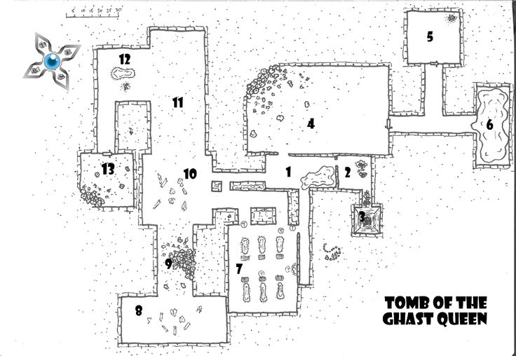 Try this free adventure for your Pathfinder game - see if you can escape the Tomb of the Ghast Queen in this free adventure for first level characters!