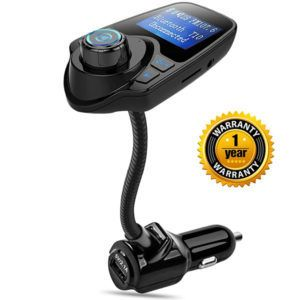 Best Car MP3 FM Transmitter - Nulaxy-Wireless-In-Car-Bluetooth-FM-Transmitter