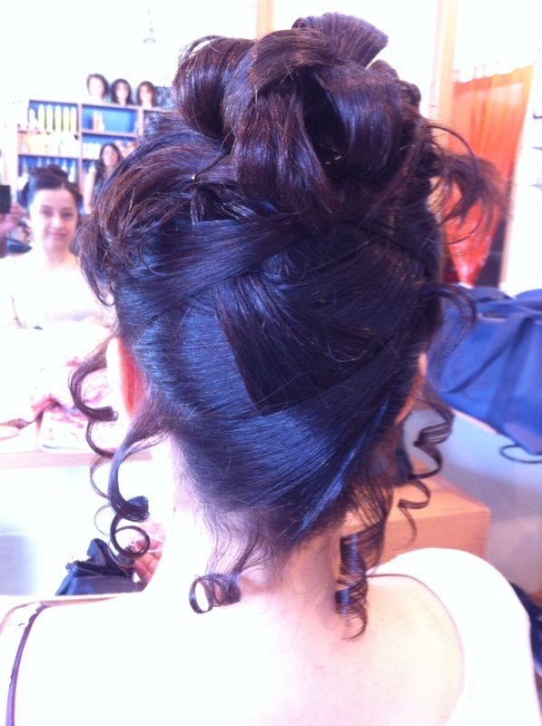 incrocio di capelli