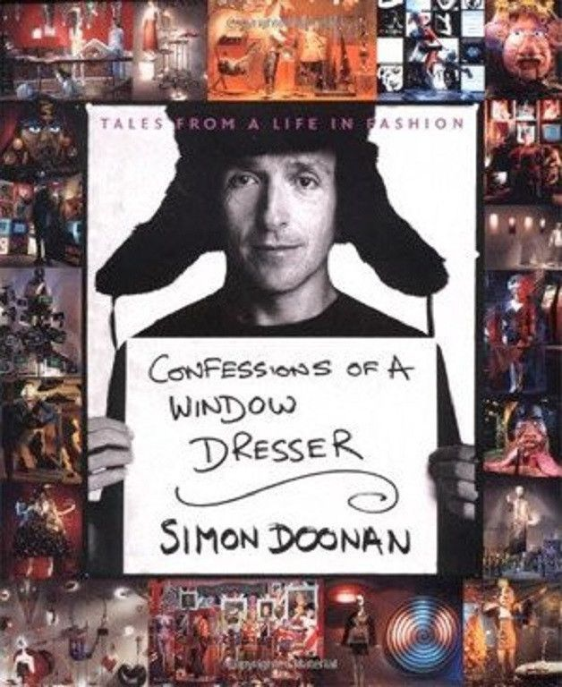 """First Edition Signed """"Confessions of a Window Dresser"""" by Simon Doonan 