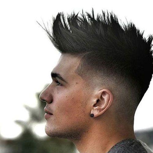 Short Quiff Haircut For Boys