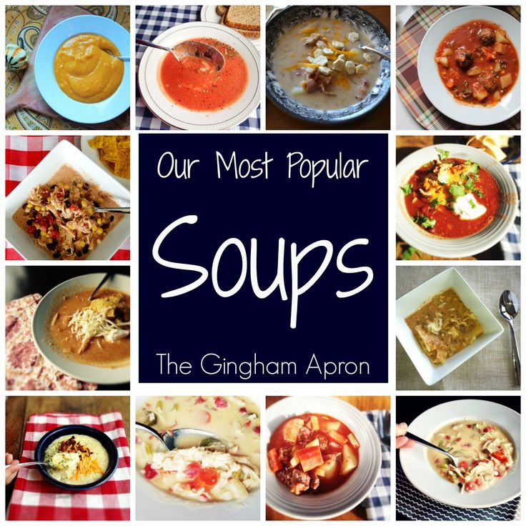 We've rounded up our most popular soups so you'll have easy, warm meals this winter.