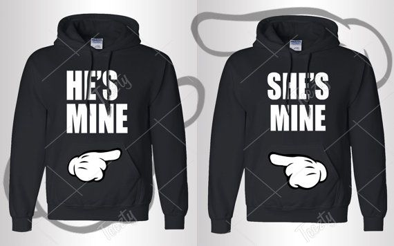 He Is Mine She Is Mine Hoodie Hoodies Matching Hoodie Matching Hoodies Couple Hoodie Couple Hoodies Relationship Love Valentines Day T-shirt