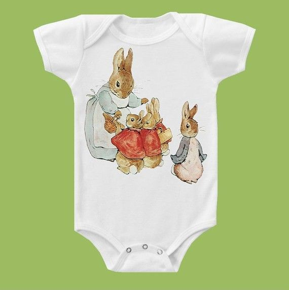 Peter Rabbit Onesie! from ChiTownBoutique-Etsy