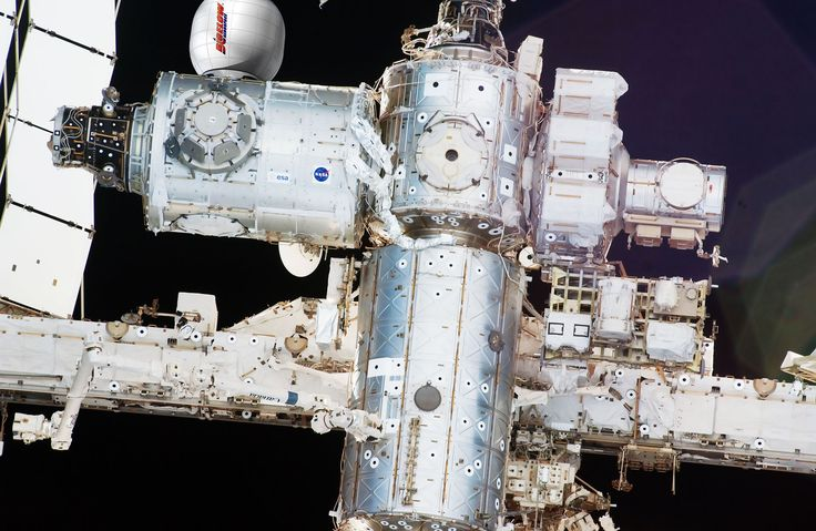 How Bigelow Aerospace's Bigelow Expandable Activity Module (BEAM) will look after its arrival at the International Space Station in 2015.<br />