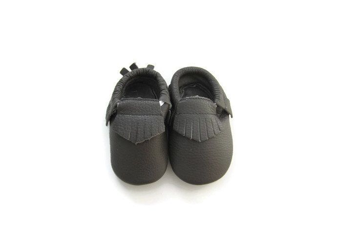 Baby Moccasins in GRAY // baby feet toddler mocs baby mocs first birthday baby shower soft shoes leather infant shoes by WrightDesignCo on Etsy https://www.etsy.com/listing/218160615/baby-moccasins-in-gray-baby-feet-toddler