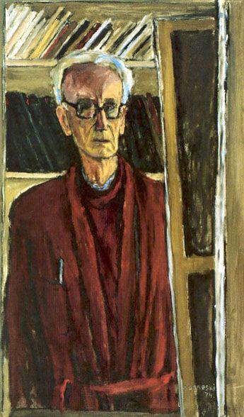 Autoritratto, 1974, olio su tela