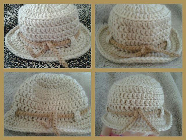 1048 best Crochet Baby Hats images on Pinterest | Hat crochet ...