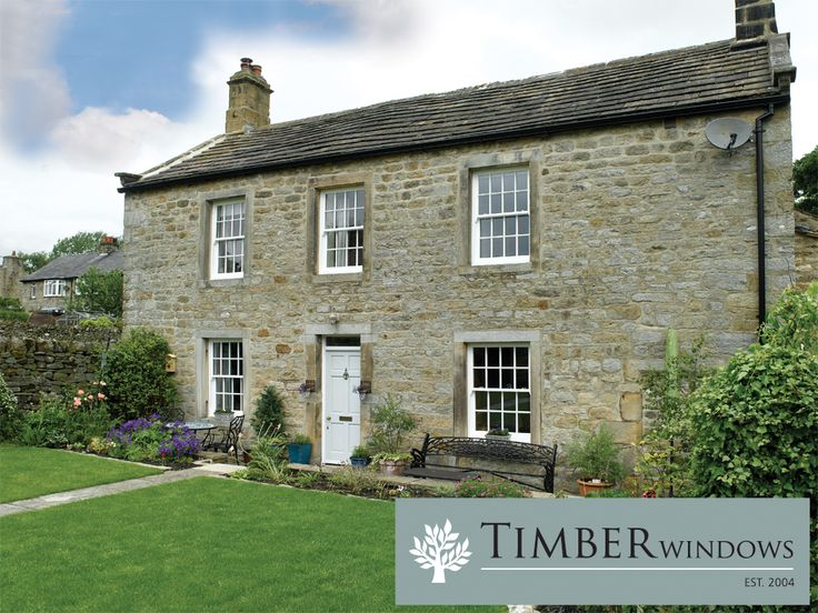 Timber Windows in an old school house.